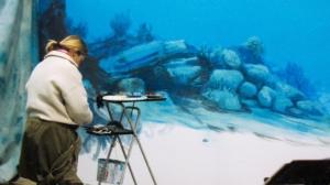 #peinture #décor #trompeloeil #panoramique