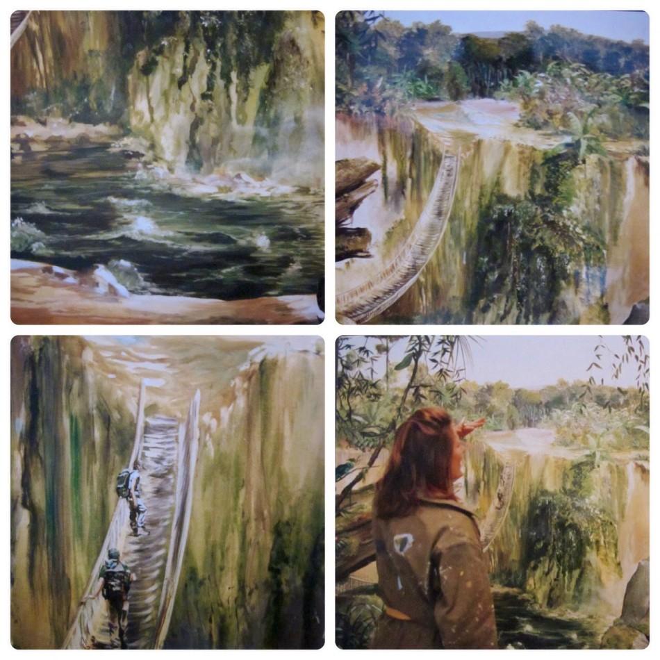 #peinture #décor #trompeloeil #panoramique #cameltrophy #commande