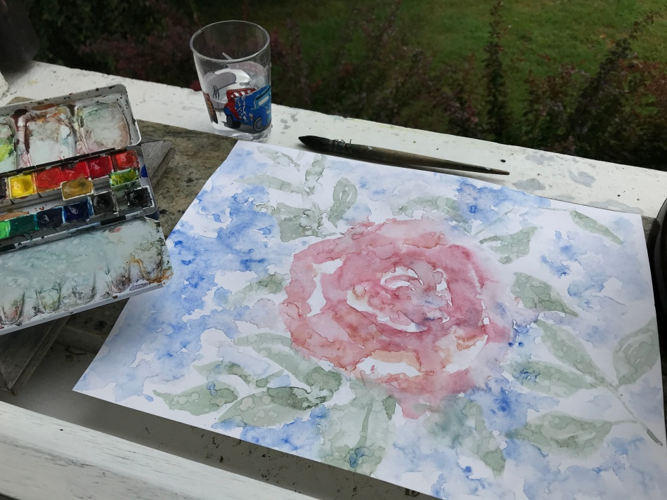 #aquarelle #pleinair #atelier #artwork
