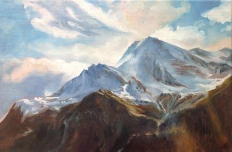 Le mont pourri 1 #peinture