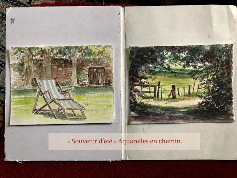 «carnets de voyage» #dessin #aquarelle #peinture #artiste #plasticienne #cours #atelier