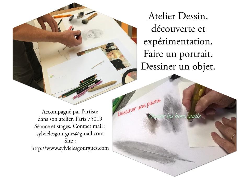 #peintre #plasticienne #artiste #atelier #création #dessin #cours #dessiner #expérience #portrait #outils