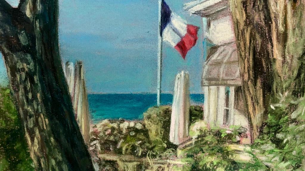 «Descente à la mer» #pastelsec