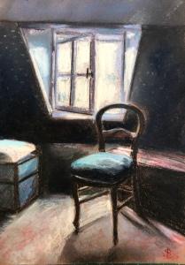 «chambre 1» #pastelsec