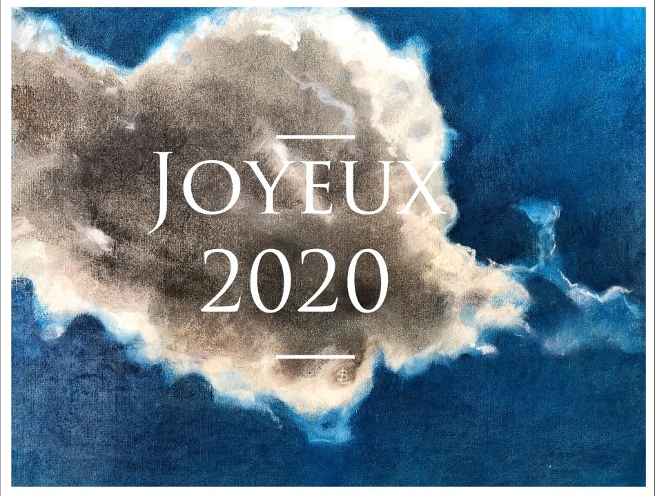 #dessin #pastel #art #unique #voeux #2020